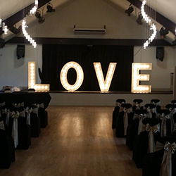 5ft Illuminated Love Letters